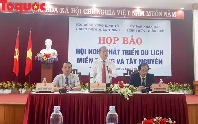 19 tỉnh, thành phố họp bàn về phát triển du lịch miền Trung và Tây Nguyên - Ảnh 1.