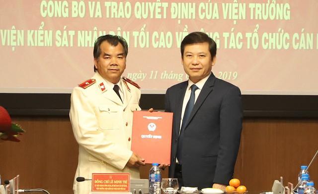Viện Kiểm sát Nhân dân tối cao bổ nhiệm nhân sự mới - Ảnh 1.