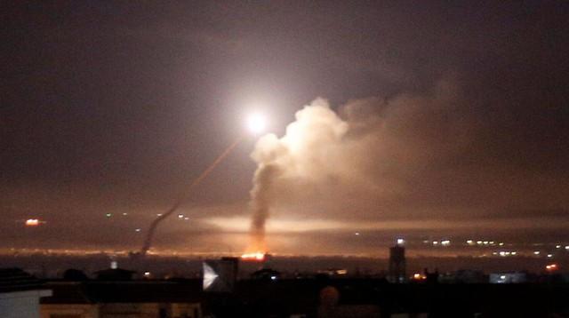 Truyền thông Syria bắt tín hiệu Israel phóng tên lửa vào tỉnh phía nam - Ảnh 1.