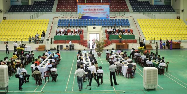 Sôi nổi Giải vô địch Cờ tướng tỉnh Quảng Nam cúp Tân Nghĩa Sơn lần thứ VII - Ảnh 1.