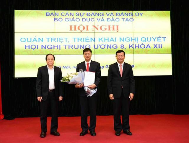 Thứ trưởng Lê Hải An tham gia Ban Thường vụ và giữ chức Bí thư Đảng ủy Bộ Giáo dục và Đào tạo - Ảnh 1.