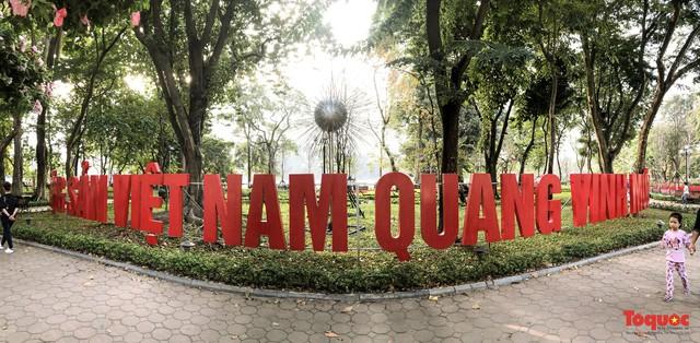 Hà Nội làm heo khổng lồ bằng cây xanh đón Tết Kỷ Hợi 2019 - Ảnh 4.