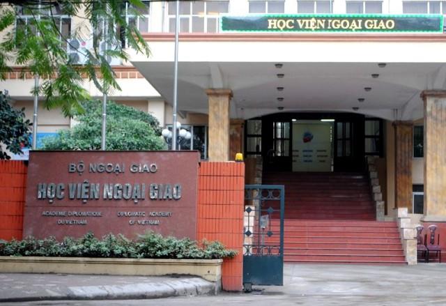 Mới: Học viện Ngoại giao bao gồm 15 đơn vị trực thuộc - Ảnh 1.