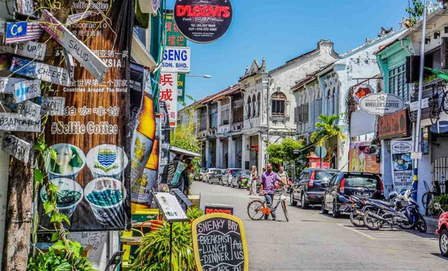 5 lý do nên ghé thăm thị trấn George ở Penang, Malaysia - Ảnh 2.