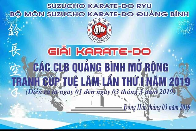 Quảng Bình: Đăng cai giải thi đấu Karate với 6 tỉnh miền Trung tham gia  - Ảnh 1.