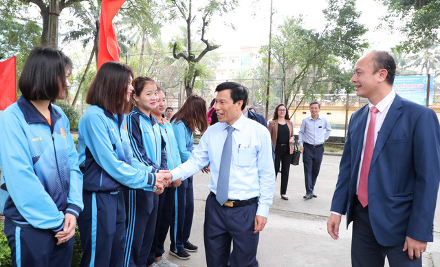 Bộ trưởng Nguyễn Ngọc Thiện yêu cầu Trường Đại học Thể dục, Thể thao Bắc Ninh cần tập trung vào chiều sâu và phát huy những thế mạnh đã có - Ảnh 4.