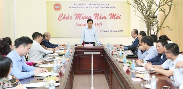 Bộ trưởng Nguyễn Ngọc Thiện yêu cầu Trường Đại học Thể dục, Thể thao Bắc Ninh cần tập trung vào chiều sâu và phát huy những thế mạnh đã có - Ảnh 1.