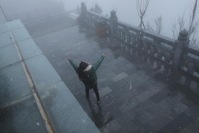 Những khoảnh khắc thiên nhiên vi diệu trên đỉnh Fansipan - Ảnh 2.