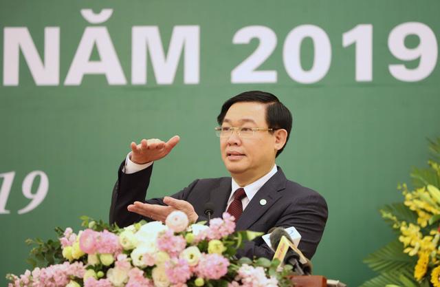 Phó Thủ tướng Vương Đình Huệ dự hội nghị triển khai nhiệm vụ phát triển thị trường chứng khoán năm 2019 - Ảnh 1.