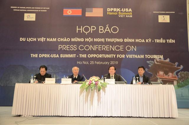 Hội nghị thượng đỉnh Mỹ-Triều: Ngành Du lịch đã sẵn sàng để quảng bá hình ảnh, đất nước con người Việt Nam  - Ảnh 2.