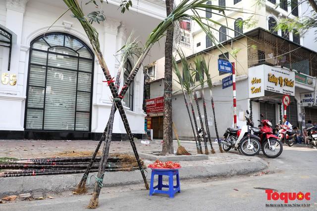 Chiều 30 tết: Mía lộc tràn ngập đường phố Hà nội - Ảnh 5.