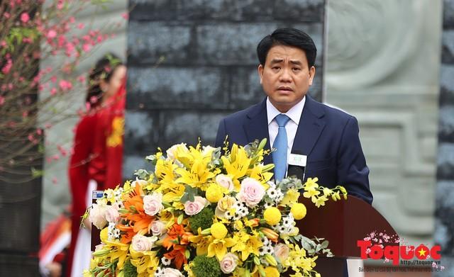 Thủ tướng Nguyễn Xuân Phúc trao Bằng xếp hạng Di tích Quốc gia đặc biệt gò Đống Đa - Ảnh 5.
