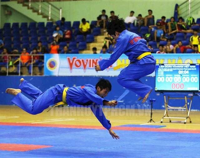 Đồng Tháp tham gia thi đấu giải Vô địch các đội mạnh Vovinam toàn quốc năm 2019 - Ảnh 1.