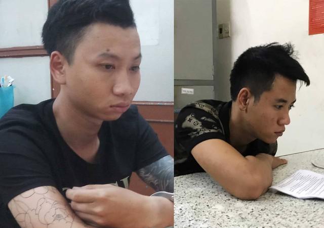 Thấy đôi nam nữ chạy xe máy bất thường, cảnh sát kiểm tra thì phát hiện ma túy - Ảnh 1.