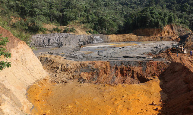 Nghệ An: Sập hầm mỏ thiếc, 3 người bị vùi lấp tử vong - Ảnh 1.