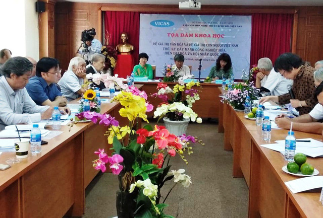 Xây dựng và hoàn thiện hệ giá trị văn hóa, hệ giá trị chuẩn mực con người Việt Nam - Ảnh 1.