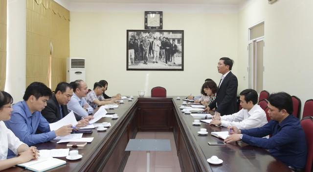 Trao đổi hợp tác trong hoạt động Công nghệ, Thông tin giữa Trung tâm CNTT và Trường Đại học Thể dục thể thao Bắc Ninh - Ảnh 1.