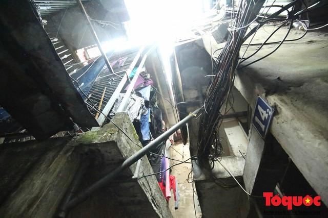Kiểm tra PCCC phố cổ Hà Nội: An toàn cháy nổ ở mức báo động - Ảnh 8.