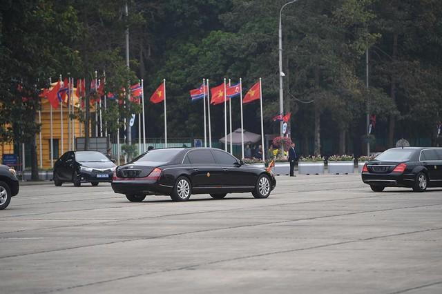 Chủ tịch Triều Tiên Kim Jong-un viếng lăng Chủ tịch Hồ Chí Minh - Ảnh 22.