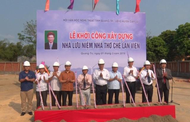 Quảng Trị sẽ có không gian lưu niệm nhà thơ Chế Lan Viên  - Ảnh 1.