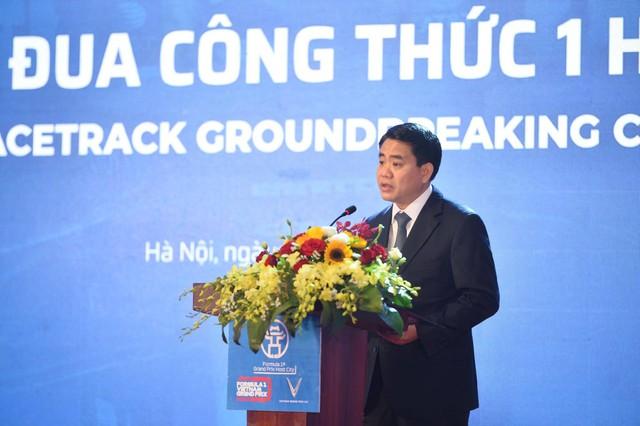 Hà Nội chính thức khởi công đường đua F1 - Ảnh 2.