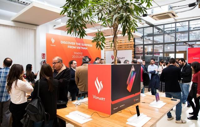 Vsmart chính thức phân phối tại thị trường Tây Ban Nha - Ảnh 4.