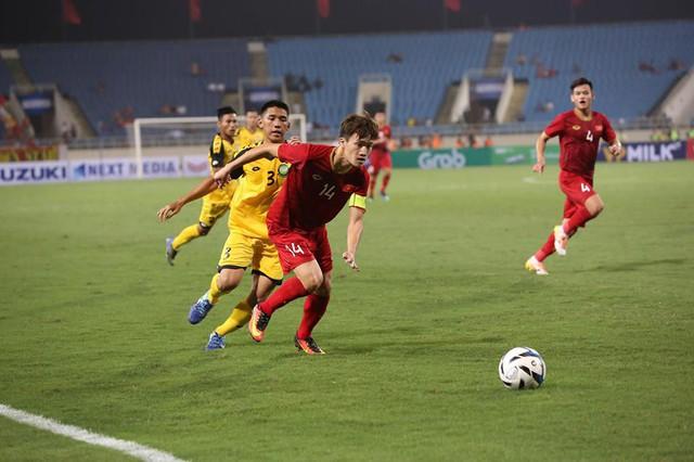 U23 Việt Nam chiến thắng giòn giã trước Brunei - Ảnh 1.