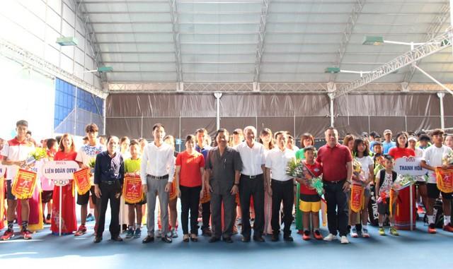 Khai mạc Giải quần vợt Vô địch năng khiếu toàn quốc năm 2019  - Ảnh 2.