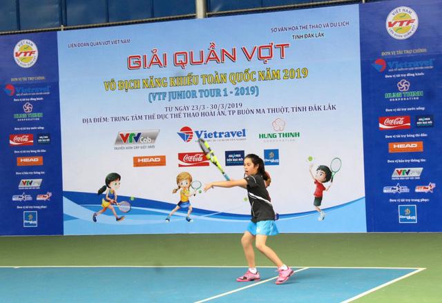 Khai mạc Giải quần vợt Vô địch năng khiếu toàn quốc năm 2019  - Ảnh 3.