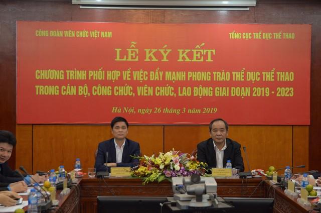 """Thứ trưởng Lê Khánh Hải:  Cán bộ, công chức, viên chức, người lao động cần thực hiện tốt phong trào """"Toàn dân rèn luyện thể thao theo gương Bác Hồ vĩ đại"""" - Ảnh 1."""
