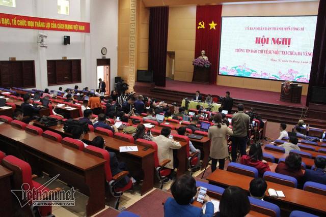 Chủ tịch UBND TP Uông Bí: Đồng thuận quan điểm xử lý nghiêm khắc sư trụ trì chùa Ba Vàng - Ảnh 1.