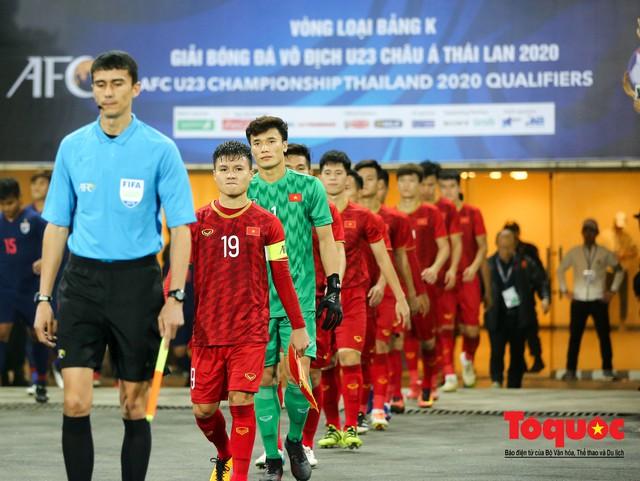 U23 Việt Nam 4-0 Thái Lan: Cách biệt lớn nhất trong lịch sử thắng Thái Lan - Ảnh 1.