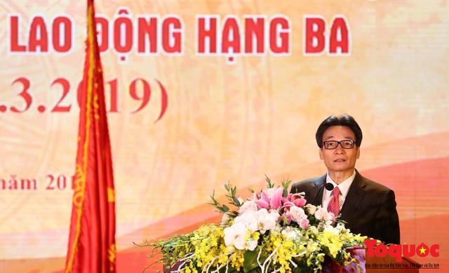 Trường Đại học Văn hóa Hà Nội kỷ niệm 60 năm ngày thành lập và đón nhận Huân chương Lao động hạng Ba - Ảnh 7.