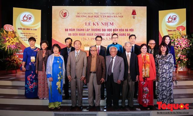 Trường Đại học Văn hóa Hà Nội kỷ niệm 60 năm ngày thành lập và đón nhận Huân chương Lao động hạng Ba - Ảnh 9.