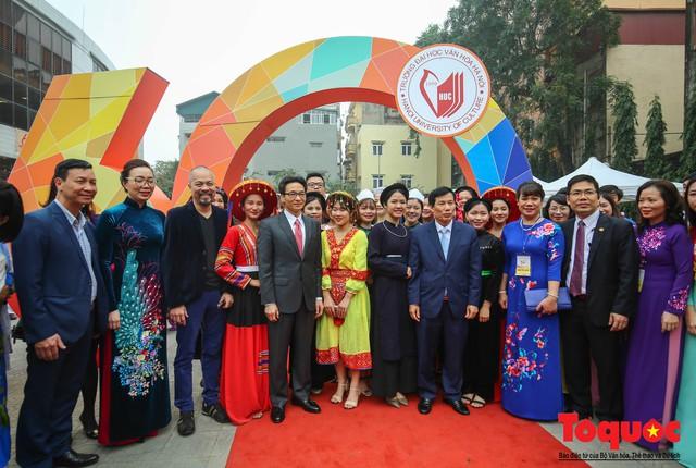 Trường Đại học Văn hóa Hà Nội kỷ niệm 60 năm ngày thành lập và đón nhận Huân chương Lao động hạng Ba - Ảnh 15.