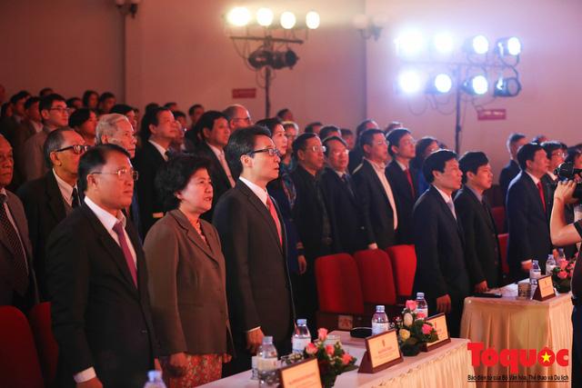 Trường Đại học Văn hóa Hà Nội kỷ niệm 60 năm ngày thành lập và đón nhận Huân chương Lao động hạng Ba - Ảnh 3.