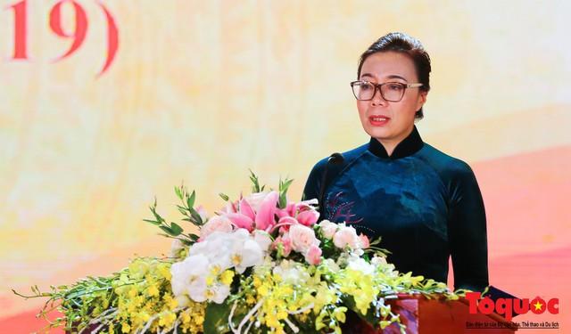Trường Đại học Văn hóa Hà Nội kỷ niệm 60 năm ngày thành lập và đón nhận Huân chương Lao động hạng Ba - Ảnh 4.