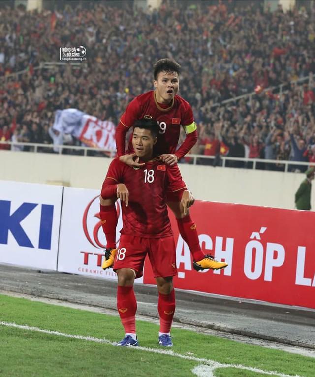 Mở tỷ số cho U23 Việt Nam, Hà Đức Chinh khẳng định ngắn gọn: Luôn chiến đấu hết mình - Ảnh 2.