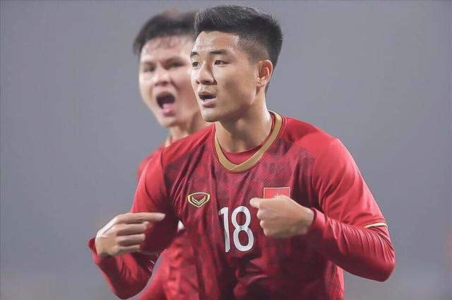 Mở tỷ số cho U23 Việt Nam, Hà Đức Chinh khẳng định ngắn gọn: Luôn chiến đấu hết mình - Ảnh 1.