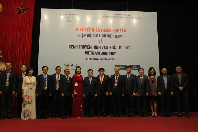 Hiệp Hội Du lịch Việt Namký kết thỏa thuận với Kênh Truyền hình Đài Tiếng nói Việt Nam - Ảnh 2.