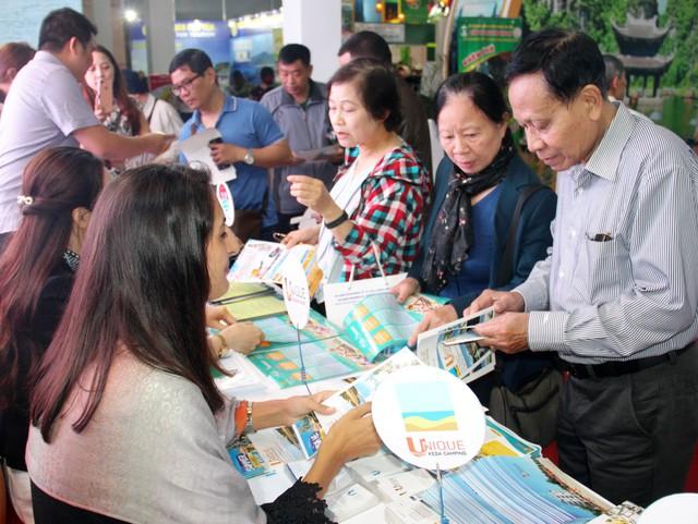 Hơn 4.000 lượt khách tham quan gian hàng du lịch Bình Thuận - Ảnh 1.