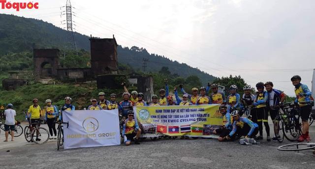 Vận động viên 36 quốc gia khác nhau tranh tài hành trình đạp xe kết nối hành lang kinh tế Đông Tây - Ảnh 1.