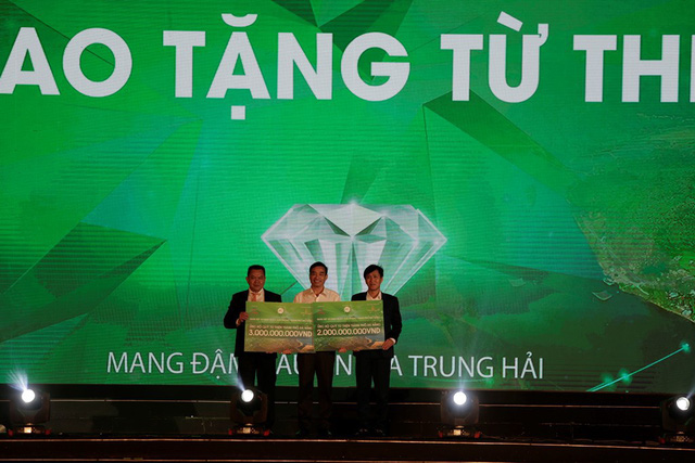 """Hàng tỷ đồng ủng hộ quỹ từ thiện Đà Nẵng trong """"Đêm đại nhạc hội và ra mắt phân khu Diamond Palace"""" - Ảnh 2."""