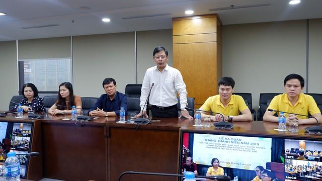 """Phát động ra quân chương trình """"Tuổi trẻ Bưu điện Việt Nam tích cực tuyên truyền chính sách BHXH tự nguyện vì An sinh xã hội, vì lợi ích của người dân""""  - Ảnh 2."""