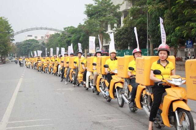 """Phát động ra quân chương trình """"Tuổi trẻ Bưu điện Việt Nam tích cực tuyên truyền chính sách BHXH tự nguyện vì An sinh xã hội, vì lợi ích của người dân""""  - Ảnh 3."""