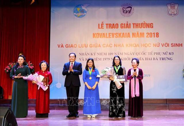 Giải thưởng Kovalevskaia vinh danh GS.TS. Nguyễn Thị Lan, Giám đốc Học viện Nông nghiệp Việt Nam   - Ảnh 1.