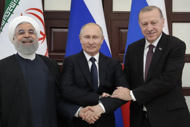 Từ quyết định ra đi của Mỹ: Lý do Nga, Thổ và Iran chưa thể có đột phá về Syria? - Ảnh 1.