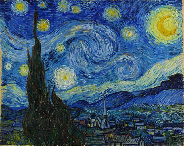VCCA triển lãm số Ấn tượng phản chiếu: Van Gogh và tác phẩm - Ảnh 1.