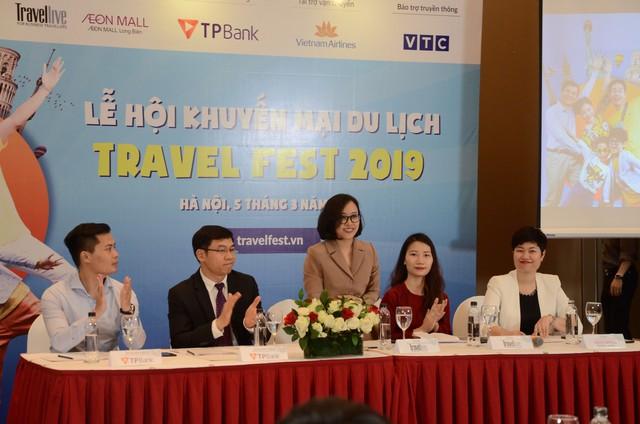 """Vô số ưu đãi, khuyến mại """"cực khủng"""" cho người đi du lịch tại Travel Fest 2019 - Ảnh 1."""