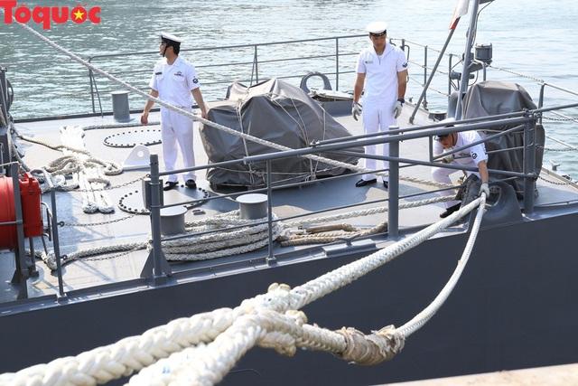 Hình ảnh hai tàu khu trục Nhật Bản cập cảng Tiên Sa - Đà Nẵng - Ảnh 14.